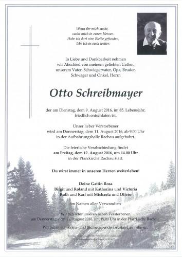 Otto Schreibmayer