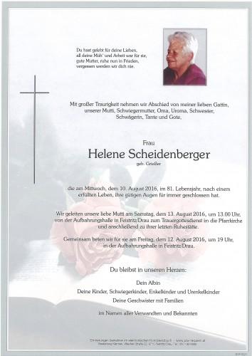 Helene Scheidenberger