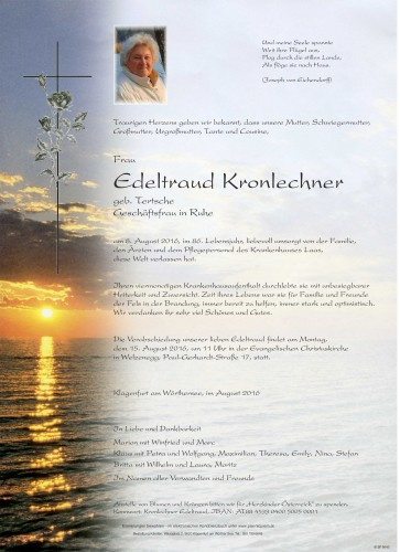 Edeltraud Kronlechner