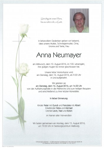 Anna Neumayer