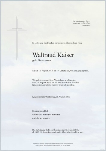 Waltraud Kaiser