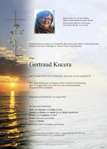 Gertraud Kucera