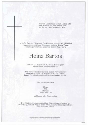 Heinz Bartos