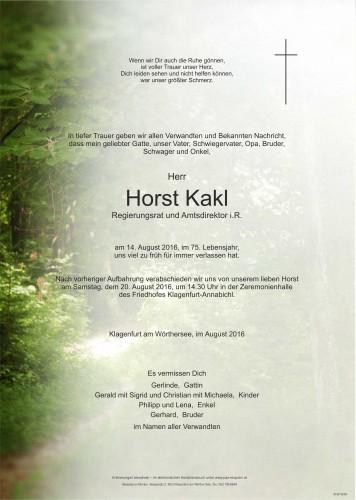 Horst Kakl