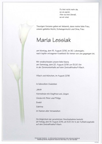 Maria Lessiak