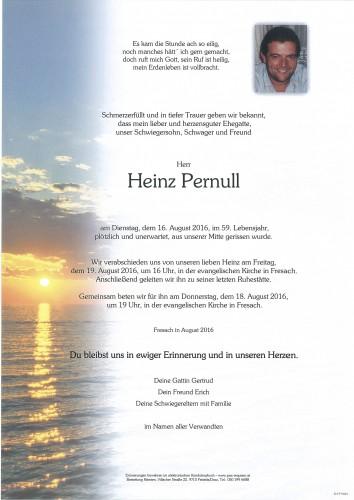Heinz Pernull