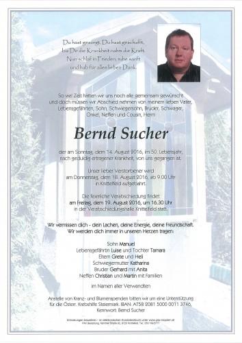 Bernd Sucher