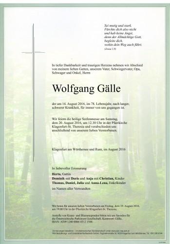 Wolfgang Gälle