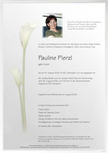 Pauline Pierzl