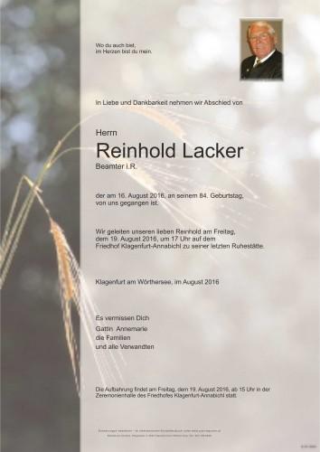Reinhold Lacker