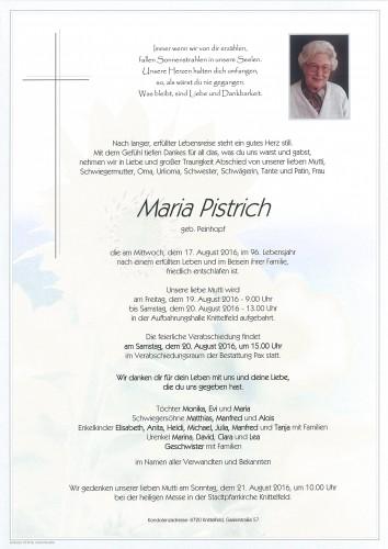 Maria Pistrich