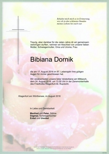 Bibiana Dornik