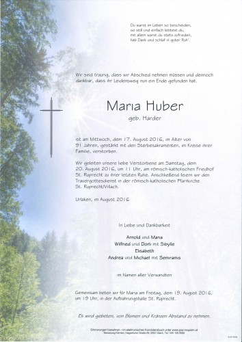 Maria Huber