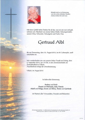 Gertraud Albl