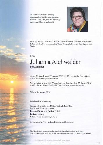 Johanna Aichwalder