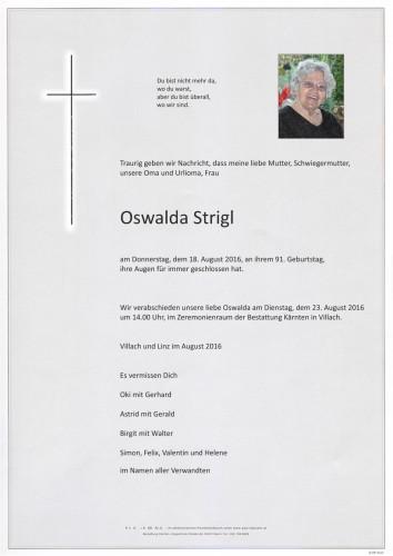 Oswalda Strigl