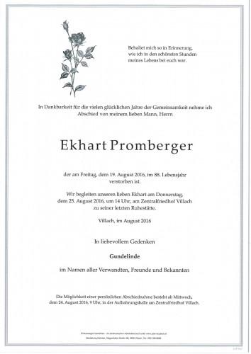 Ekhart Promberger