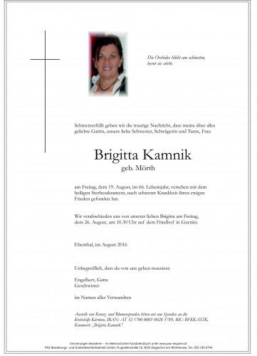 Brigitta Kamnik