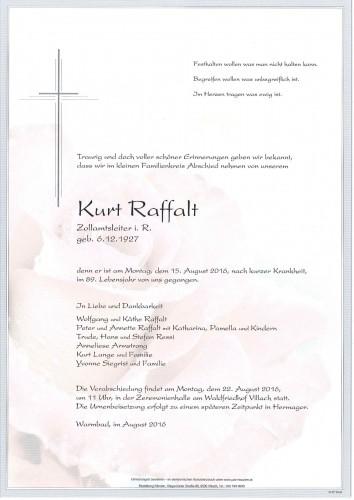 Kurt Raffalt