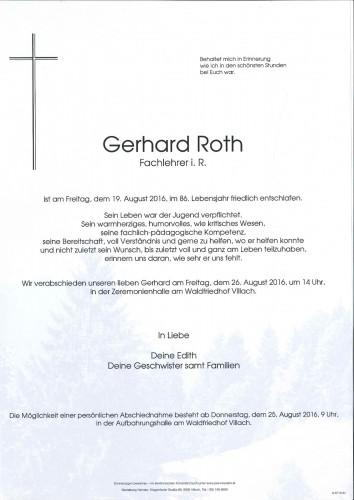 Gerhard Roth