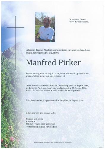 Manfred Pirker