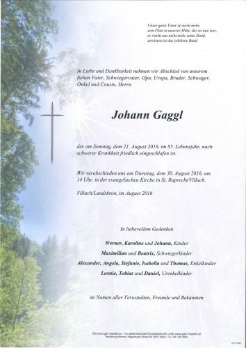 Johann Gaggl