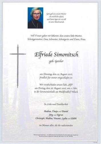 Elfriede Simonitsch