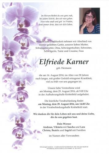 Elfriede Karner