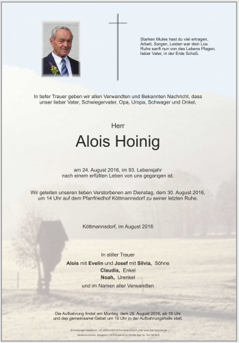 Alois Hoinig