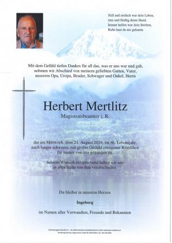 Herbert Mertlitz