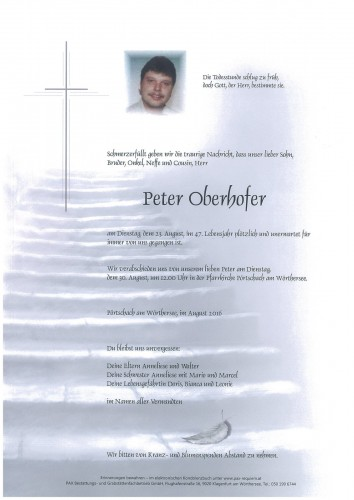 Peter Oberhofer