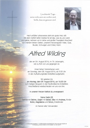 Alfred Wilding