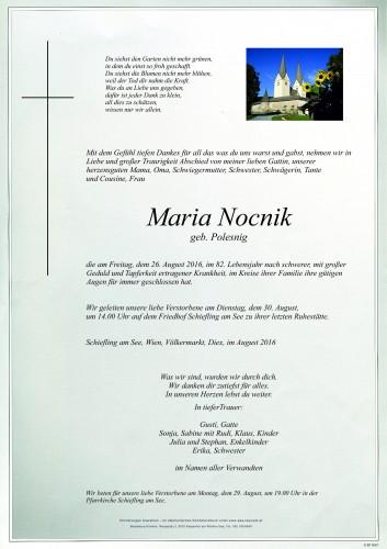Maria Nocnik