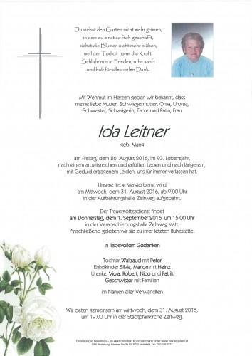 Ida Leitner