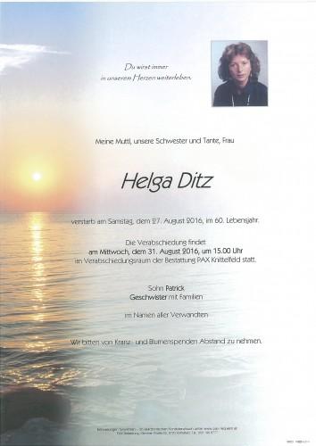 Helga Ditz
