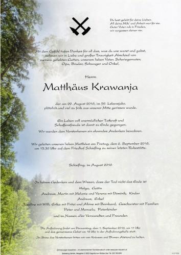 Matthäus Krawanja