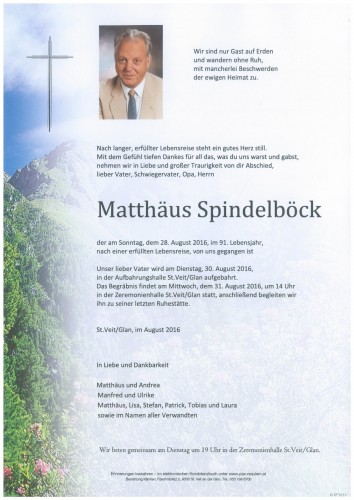 Matthäus Spindelböck
