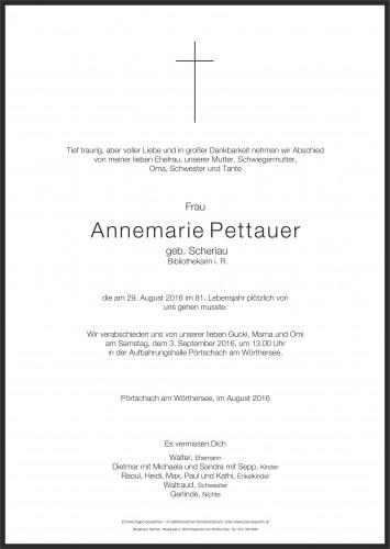 Annemarie Pettauer