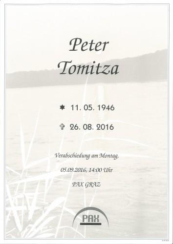 Peter Tomitza