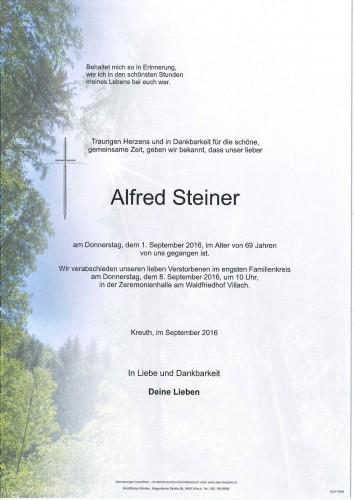 Alfred Steiner