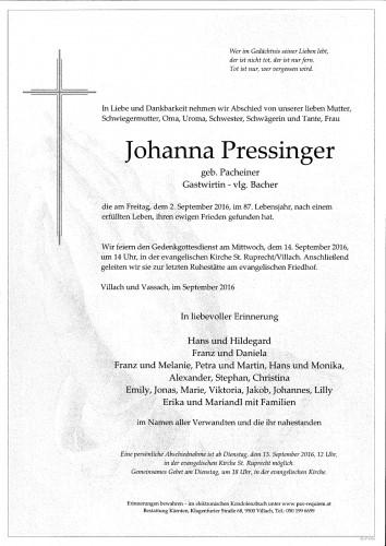 Johanna Pressinger