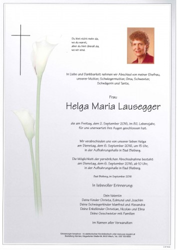 Helga Maria Lausegger