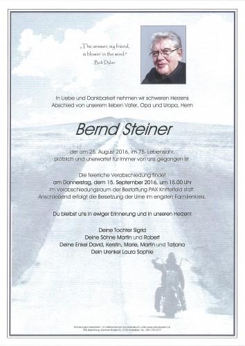 Bernd Steiner