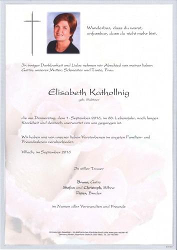 Elisabeth Kathollnig