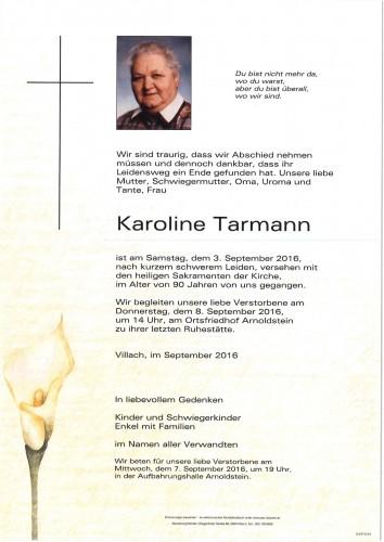 Karoline Tarmann