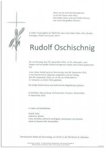 Rudolf Oschischnig
