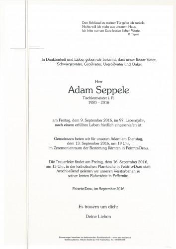 Adam Seppele