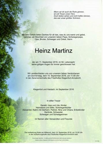Heinz Martinz