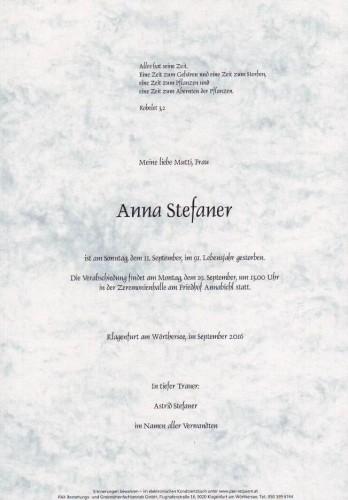 Anna Stefaner