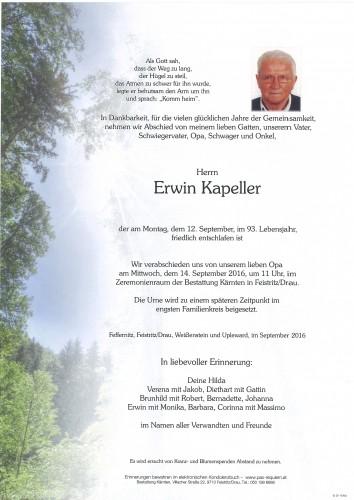 Erwin Kapeller